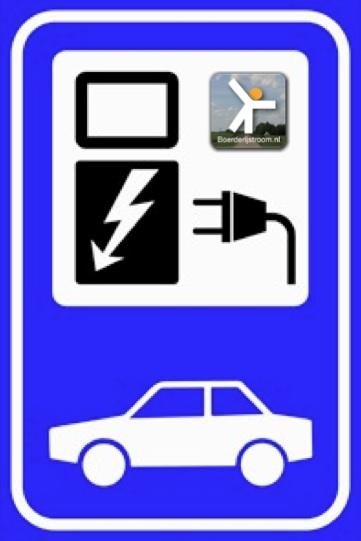 bord electrisch tanken
